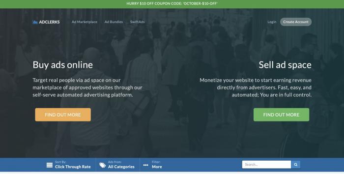 AdClerks Screenshot