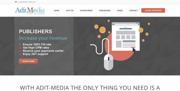 Adit Media Screenshot