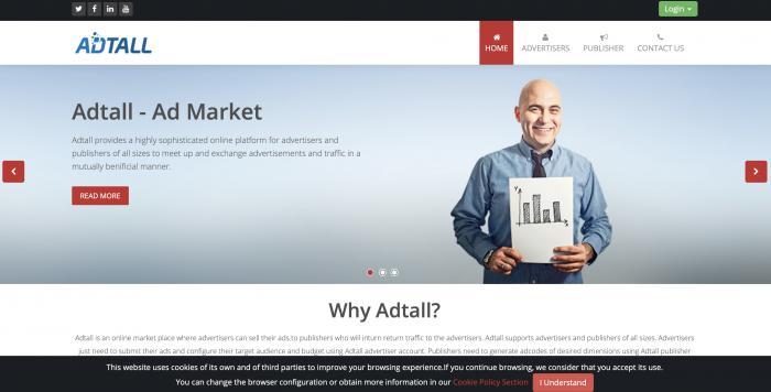 Adtall Screenshot