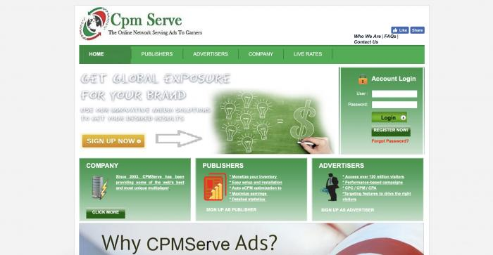 CPMServe Screenshot