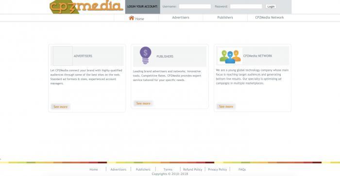 CPZMedia Screenshot