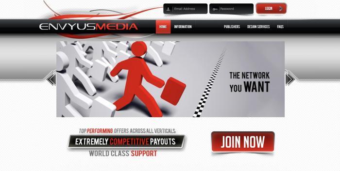 Envyusmedia Screenshot