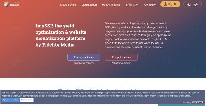 Fidelity Media Screenshot