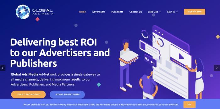 Global Ads Media Screenshot