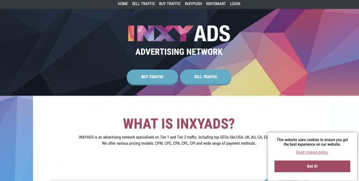 Inxyads Screenshot