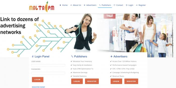 MaltaCPM Screenshot