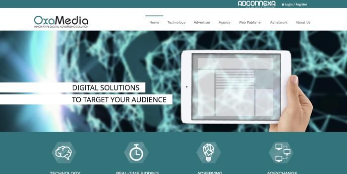 Oxamedia Screenshot