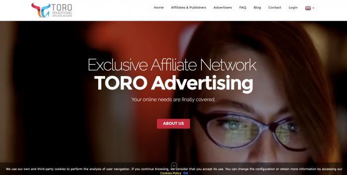 TORO Advertising Screenshot