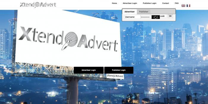 Xtendadvert Screenshot